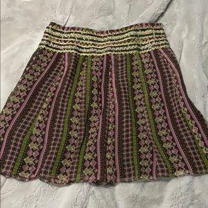 Vintage free people mini skirt